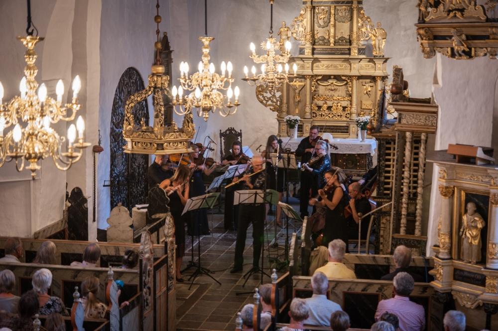 Kammermusik ved Hjarbæk fjord. 2018